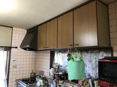 キッチン交換工事 施工前