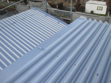 屋根塗装 施工後