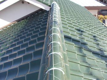 心のこもった丁寧な仕事で、屋根漆喰がきれいで安全になりました。