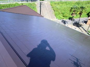 あんなに生えてた藻がなくなり綺麗な屋根になりました。