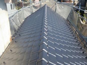 築50年の雨漏れした屋根を修理させて頂きました。