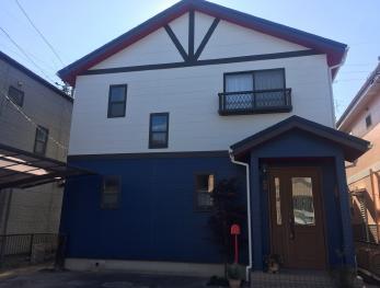 外壁だけではなく、しっかりと外装の無料診断を行い、お客様の住みたい年数に合わせた提案、修理ができました。
