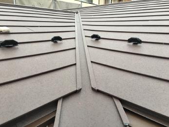 屋根材も新しくなり雨漏れも止まりました。 嵩上げした分雨樋の高さも変わるのでリスクを考慮したところ交換して良くなりました。
