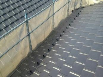 雨漏れの原因もしっかりわかり、火災保険の支給がありご負担なく屋根の修繕ができました。