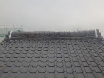 最初心配していた瓦のずれも解消され、南面の錆びていたトタン屋根もきれいになりました