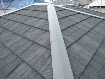屋根の葺き替え工事をしたことで、防水シートも新しくなり雨漏れが止まりました。